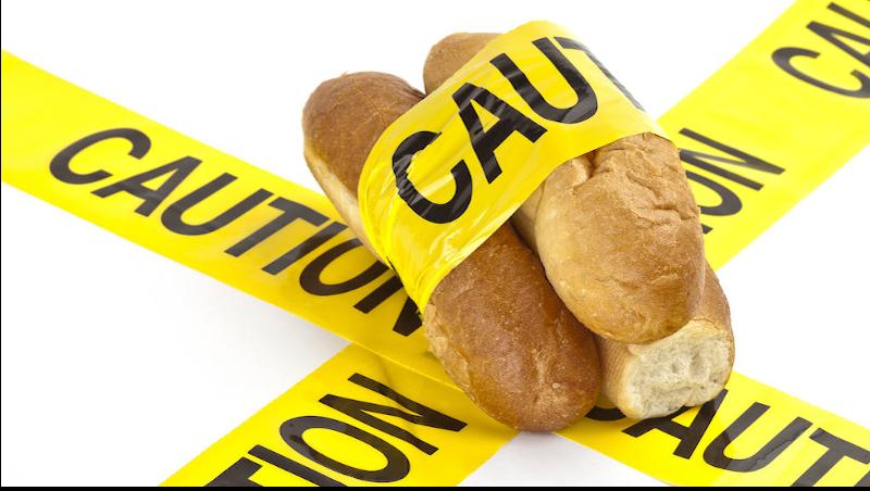 caution - bread